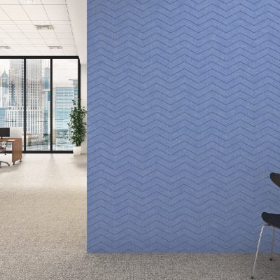Alpha etch - Polyester Acoustic Panel Vee