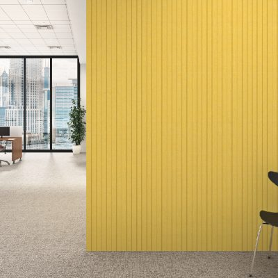Alpha etch - Polyester Acoustic Panel Vertical