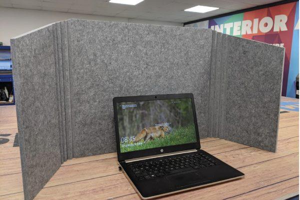 DeskTech - Portable Desk Divider