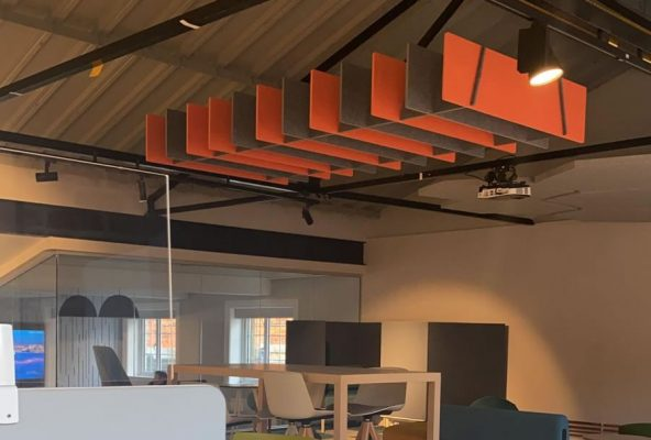 Suspended Acoustic Absorbers